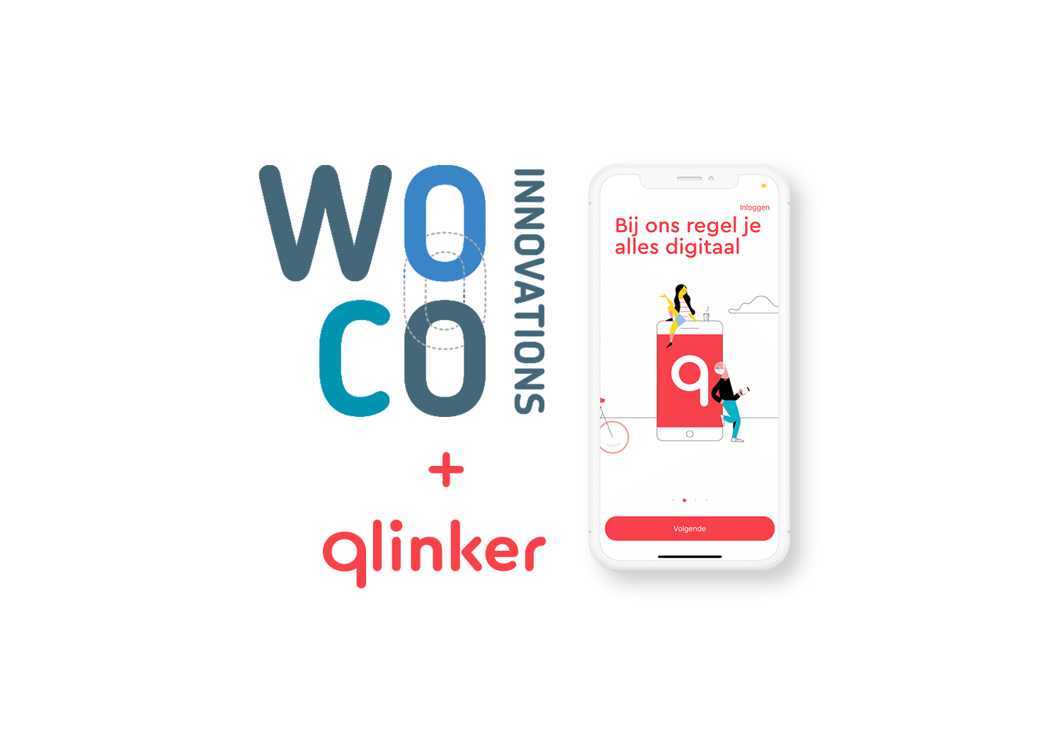 WOCO Innovations Qlinker app
